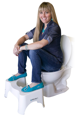 Squatty Potty can help with pelvic floor issues