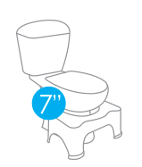 SquattyPotty Sizes